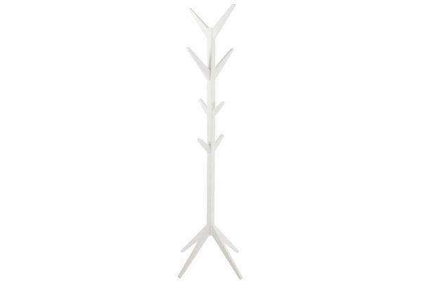 Ascot stumtjener - hvid træ