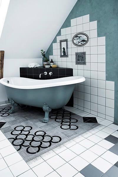 Badeværelse gulvfliser