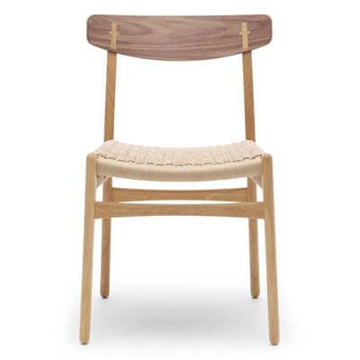 CH23 spisebordsstol med flet