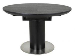 Canett Sue - Metal spisebord i sort med butterflyplade