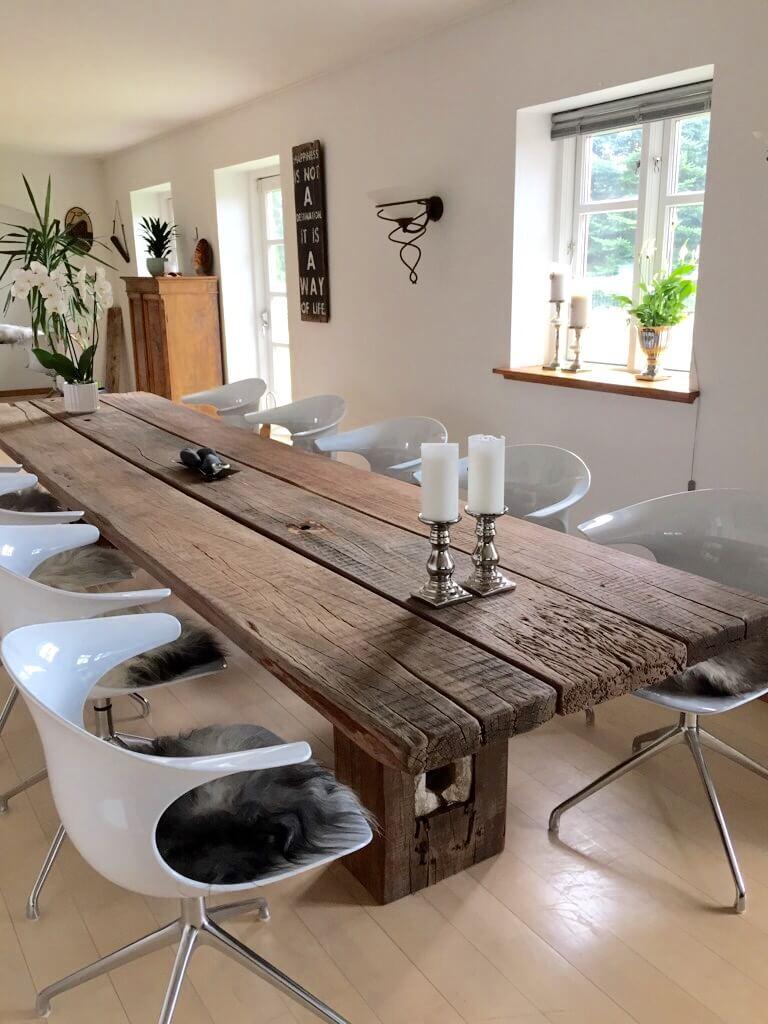 Gaia rå træbord fra Thors-design