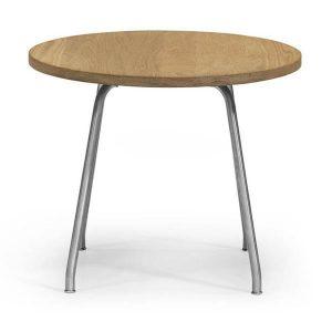 Hans Wegner - Carl Hansen CH415 – rundt sofabord i solidt håndværk