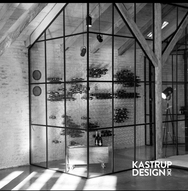 Kastrup Design vinvæg