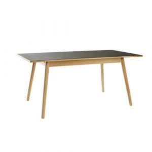 Poul M Volther rustikt spisebord med udtræk af bøg