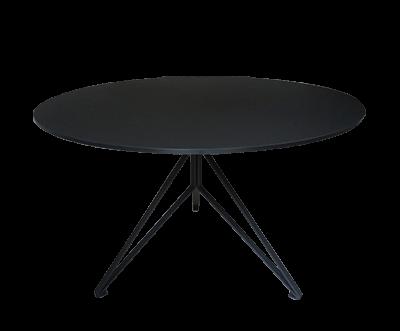 Rundt spisebord i sort fra Wehlers