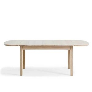 Rustikt wegner spisebord med udtræk