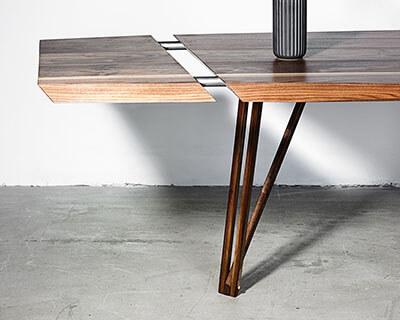 Tillægsplader på plankebordet