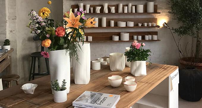 Vaser, skåle og keramik