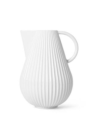 Lyngby Tura Kande Vase Hvid Porcelæn H27,5 cm