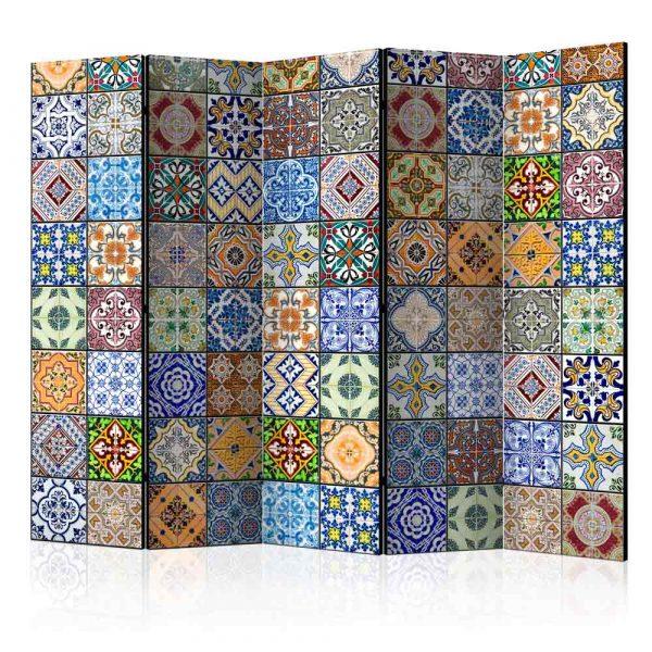 ARTGEIST Colorful Mosaic II rumdeler - multifarvet print (172x225)