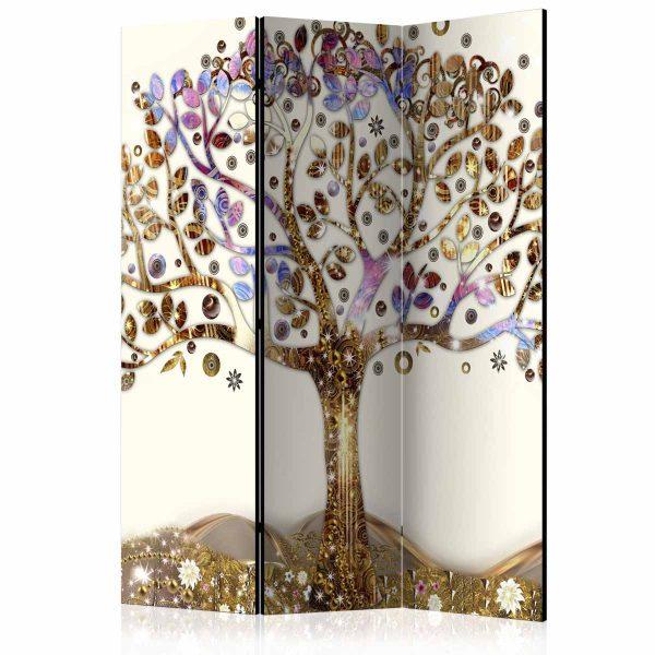 ARTGEIST Golden Tree rumdeler - multifarvet print (172x135)