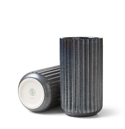 Lyngby Radiance Vase Blå fajance H15 cm
