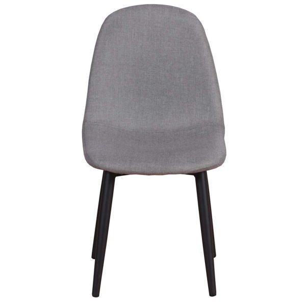 VENTURE DESIGN Polar XXS spisebordsstol - grå stof og metal