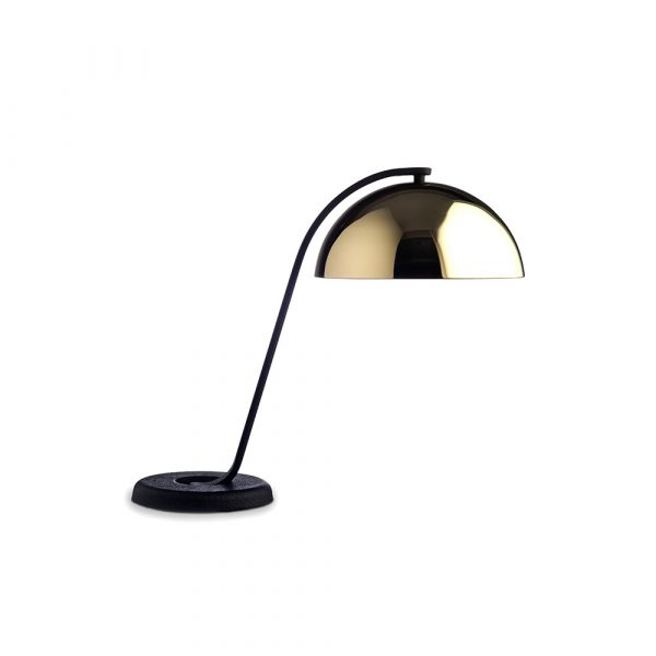 Cloche Bordlampe Polished Brass - HAY