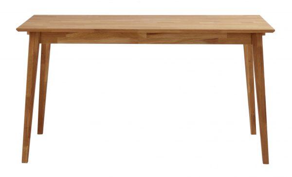 Filippa spisebord - olieret eg m. udtræk (140x90)