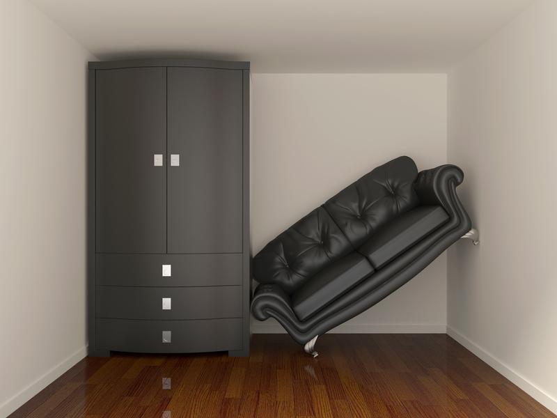 Indretning af små rum med lette møbler