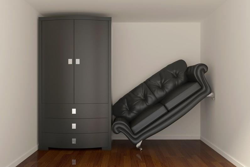 indretning af små rum