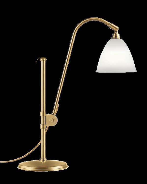BL1 Bordlampe China Bone/Messing - Bestlite