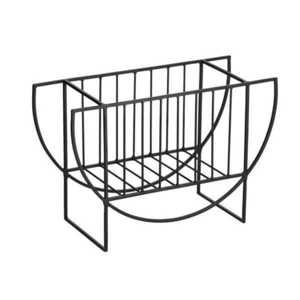 LAFORMA Aubrey magasinholder - sort metal