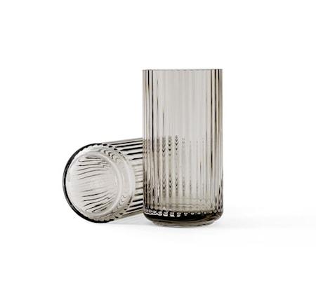 Lyngby Vase Smoke Mundblæst Glas H20,5 cm