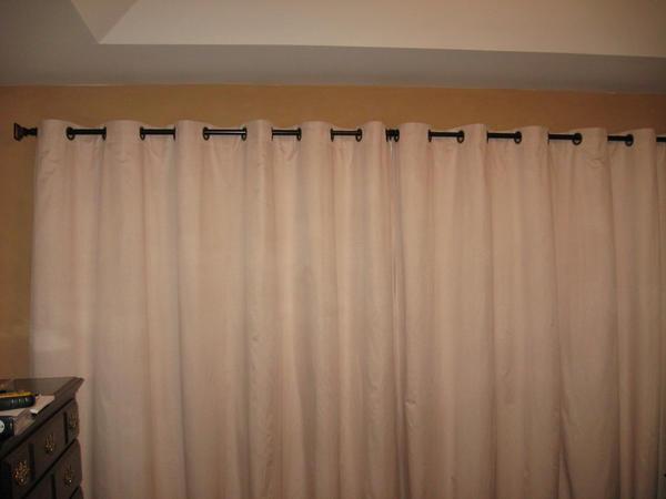 Store gardiner passer dårligt i små rum