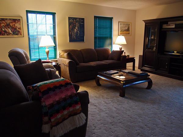 Social indretning af stue