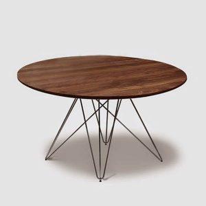 rundt og rustikt spisebord - Naver collection