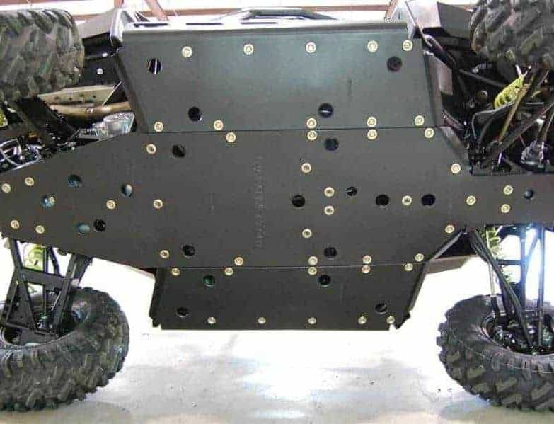 Polaris Rzr 900 Full Skid Plate With Rock Sliders