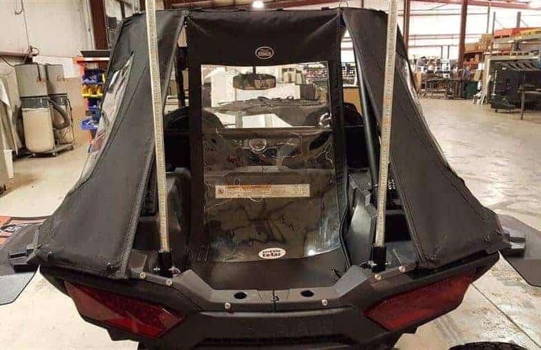 Polaris Rzr Xp Series Rear Fast Back Enclosure