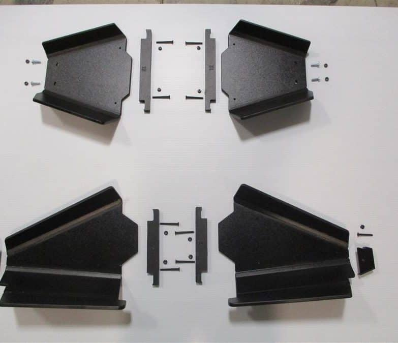 Polaris Ranger 400 And 500 Midsize Impact A-arm Guards
