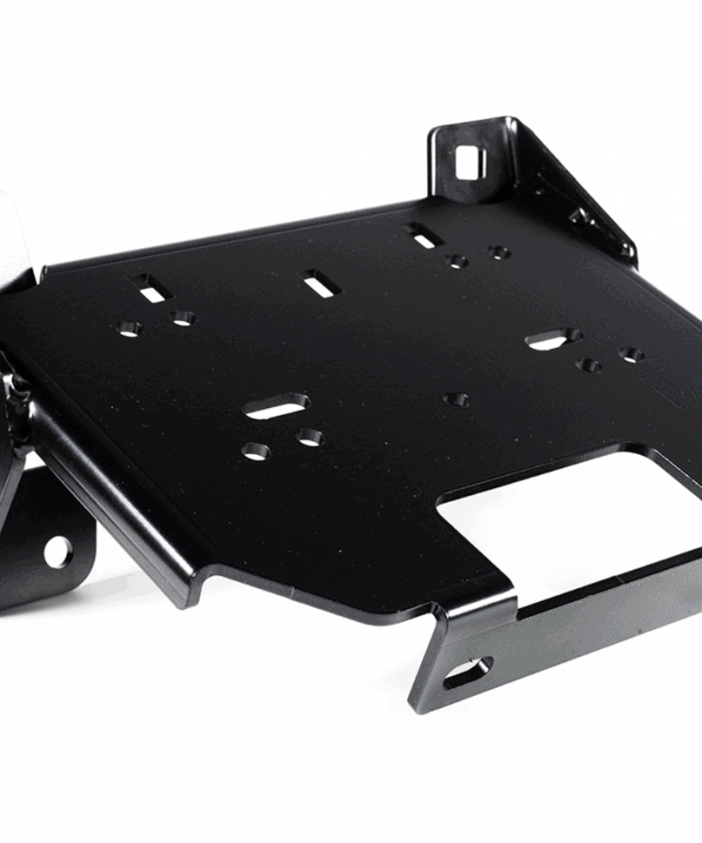Polaris Rzr Steering Rack Stabilizer Winch Plate Adapter