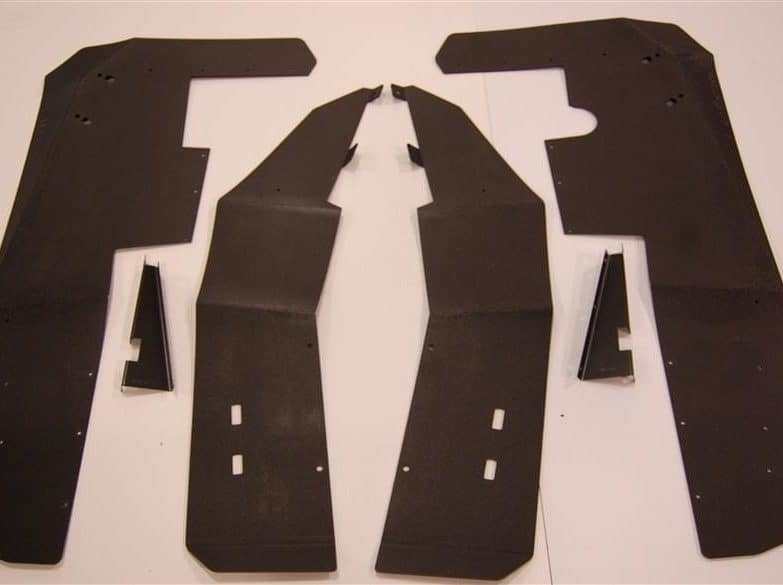 Polaris Rzr Xp 900 Mud Flap Fender Extensions Fits Je