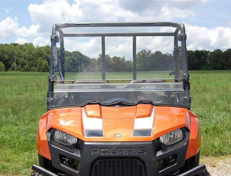 Polaris Ranger 400/500/ev Midsize Fast Clamp Coolflo Windshield