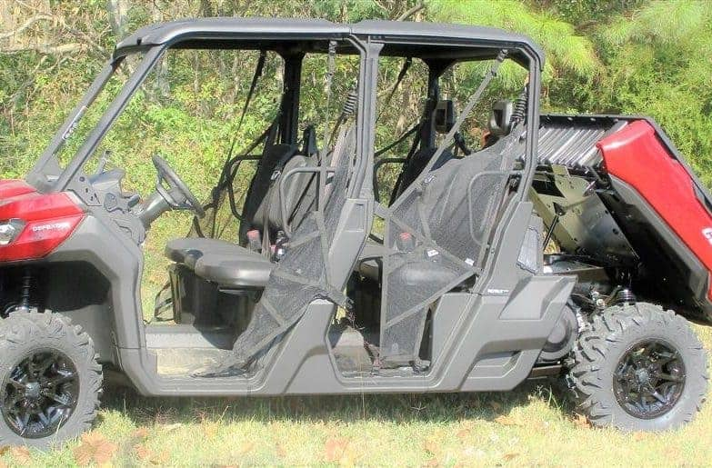 Can-am Defender Under Bed Mud Shields