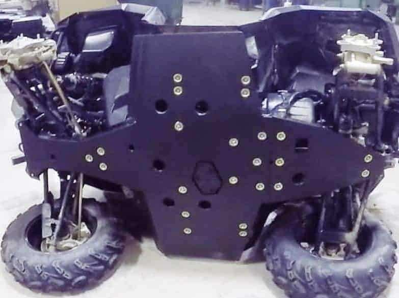 Polaris Sportsman/scrambler Full Skid Plate