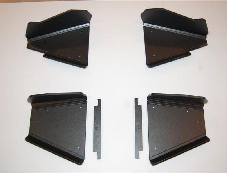 Yamaha Viking Impact A-arm Cv Front And Rear Boot Guards