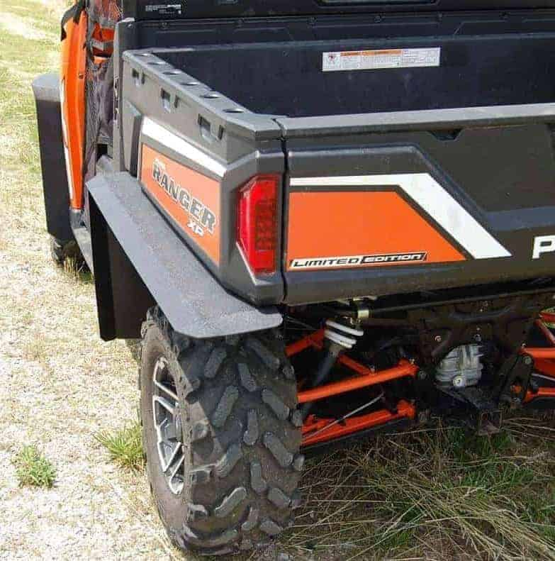 Polaris Ranger Underbed Mud Shield With Fender Extensions