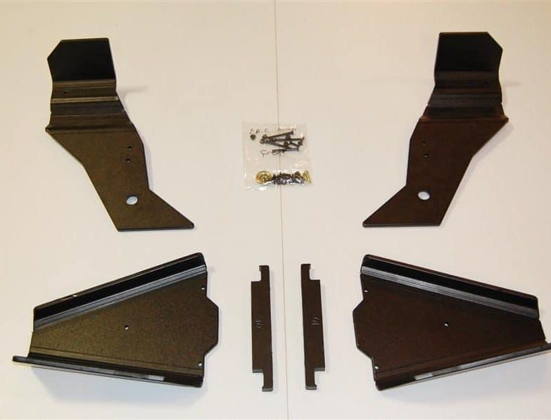 Can-am Commander Impact A-arm Cv Front & Rear Trailing Boot Guards