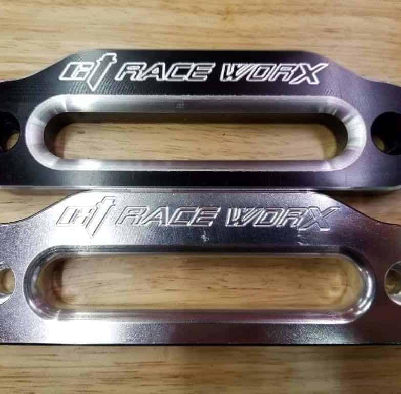 Utv Winch Fairlead, Solid Billet Aluminum