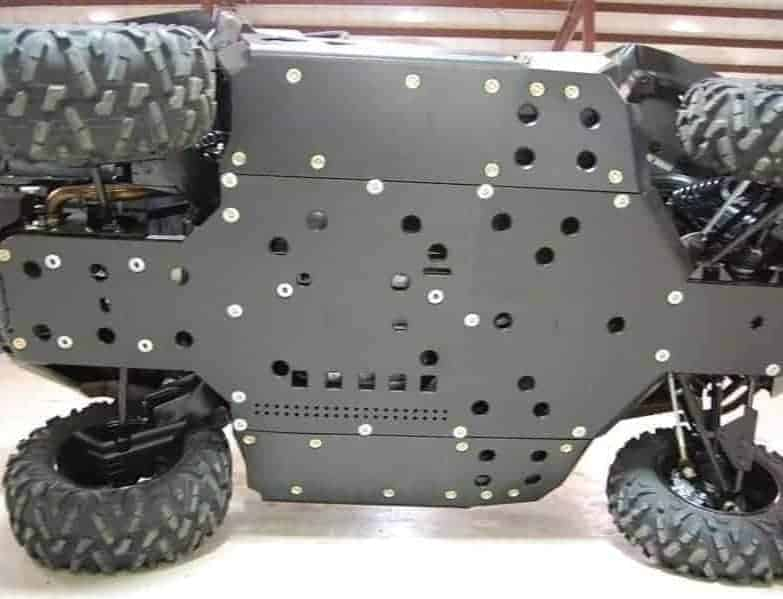 Can-am Commander Full Skid Plate With Rock Sliders