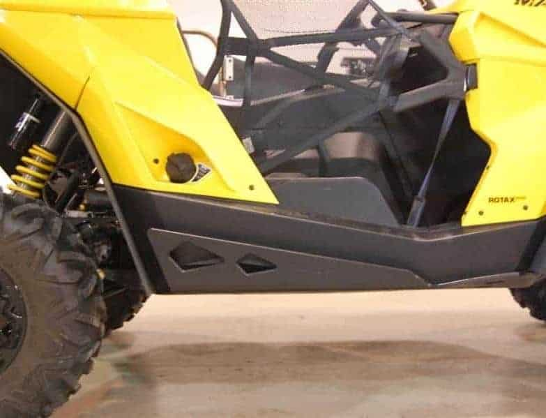 Can-am Maverick Full Skid Plates With Integrated Sliders