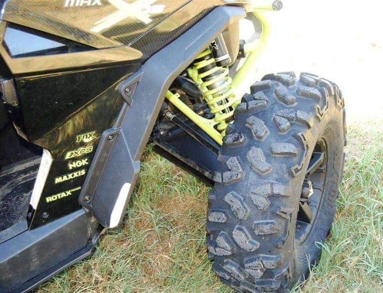 Can-Am Maverick MAX Full Skid Plate with Integrated Sliders | American Off-Roads