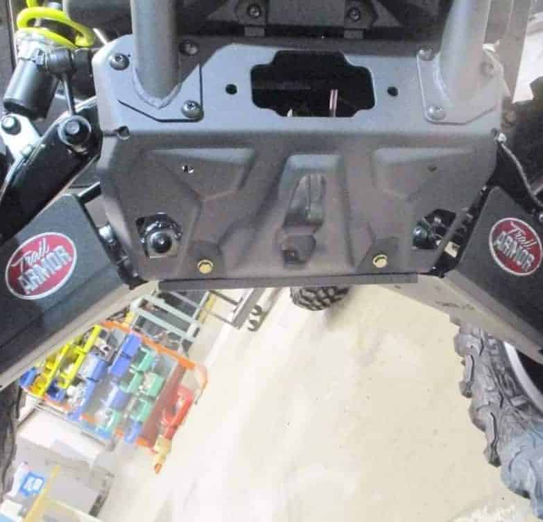 Can-am Maverick Trail Impact A-arm Guards