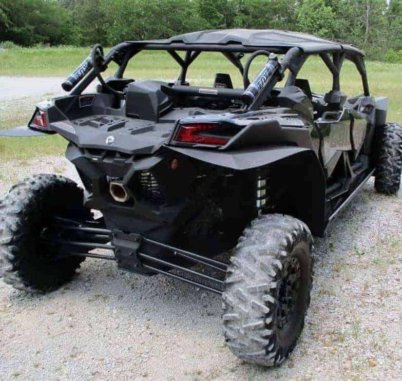 Can-am Maverick X3 Max Full Skid Plate With Integrated Sliders