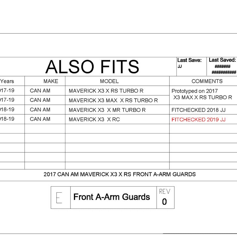 Can-am Maverick X3 Front Impact A-arm Guards