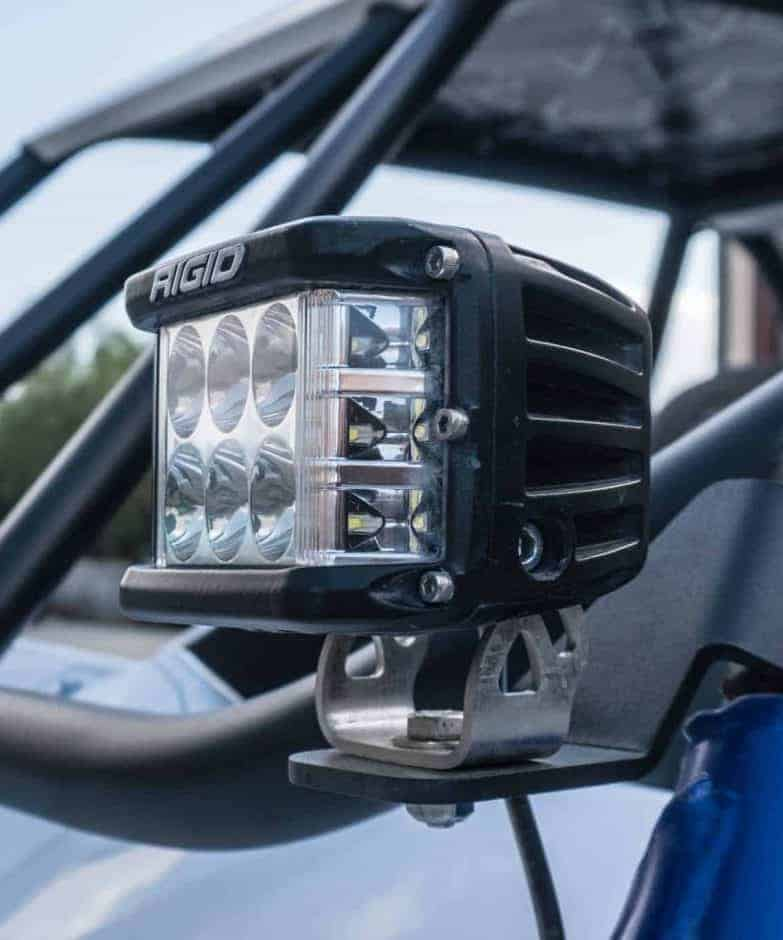 Yamaha Yxz Pillar Light Mounts