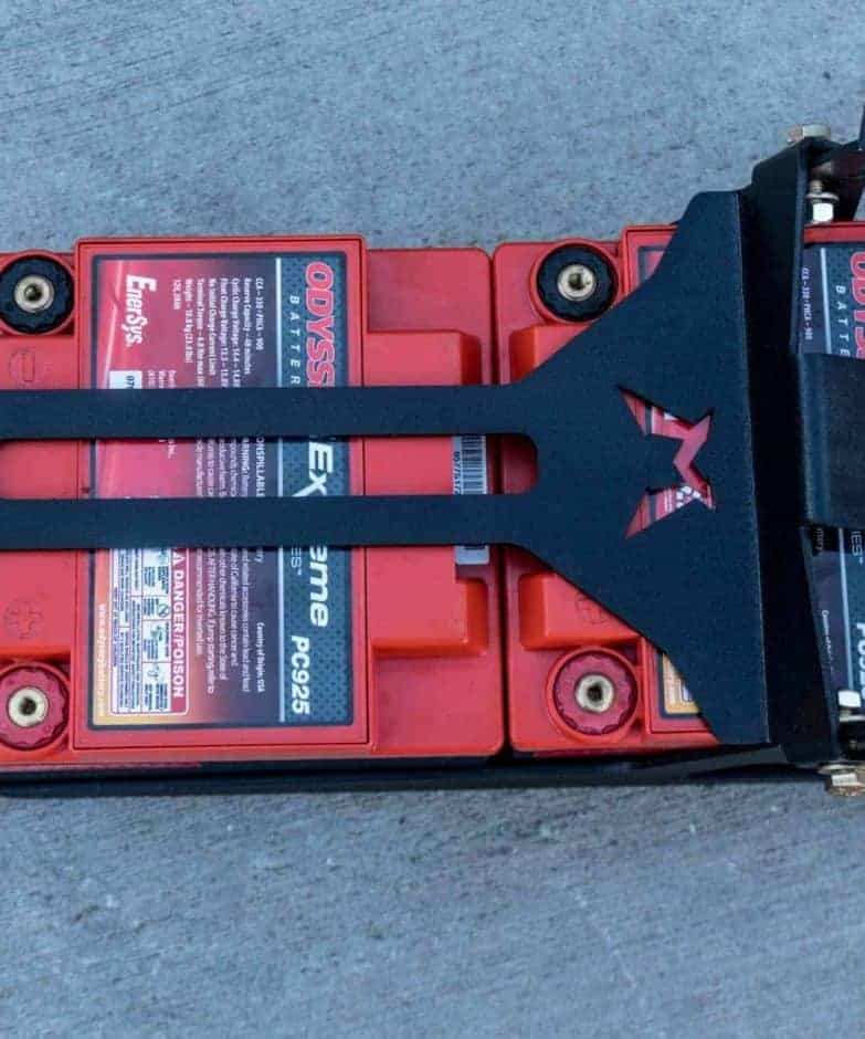 Can-am Maverick X3 Max Dual Battery Mount