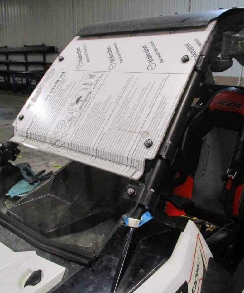 Polaris Rzr Rs1 Coolflo Windshield