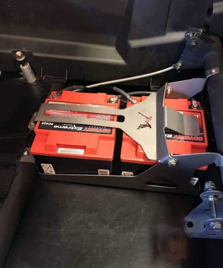 Can-am Maverick X3 Dual Battery Box