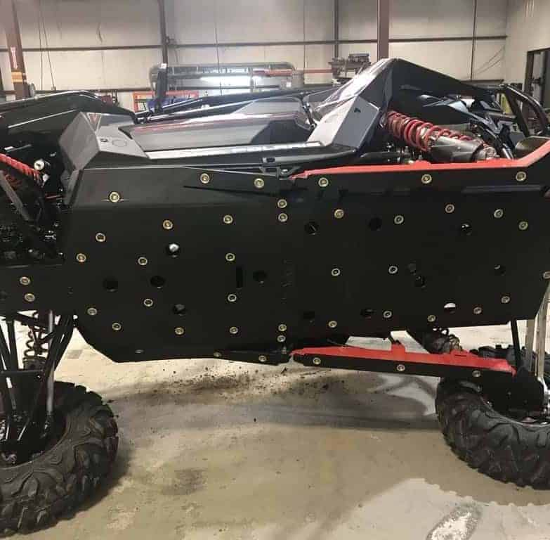 Polaris Rzr Rs1 Full Skid Plate